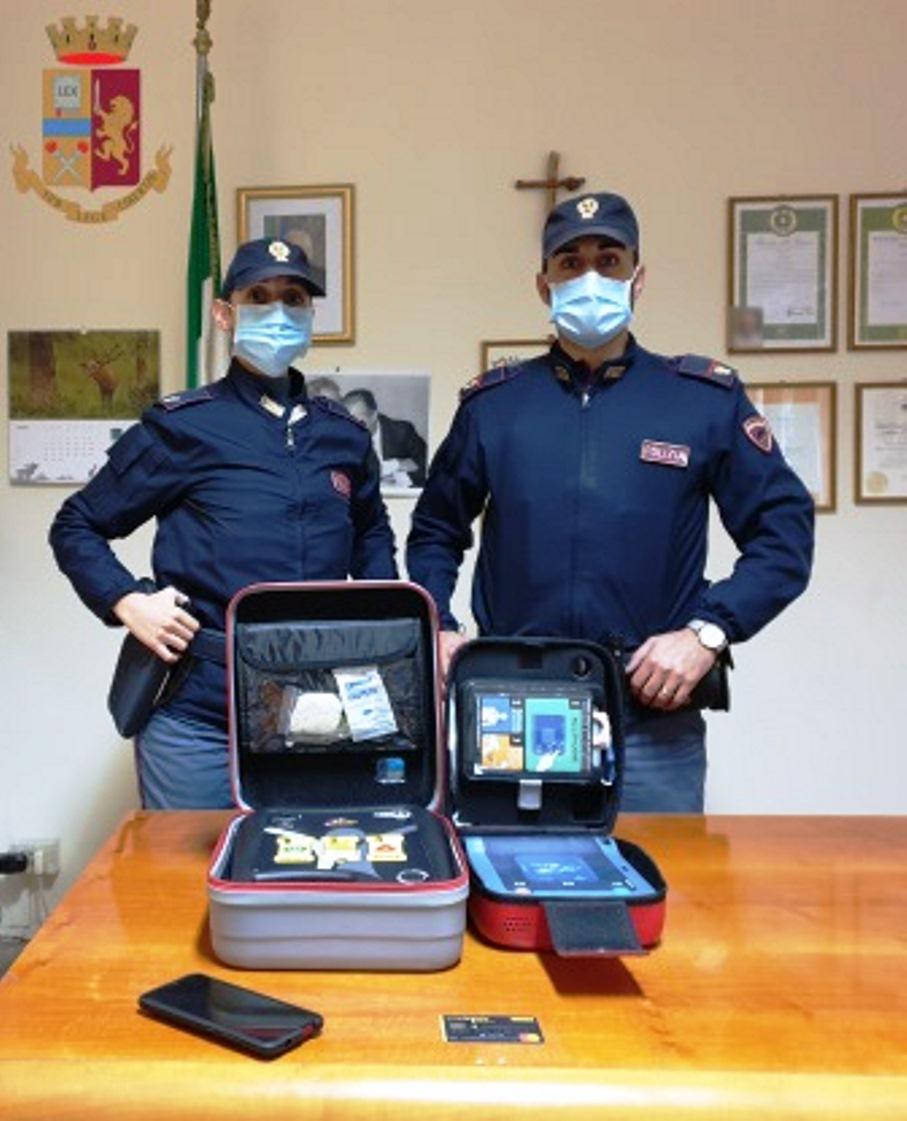 immagine defribillatori rubati a roma