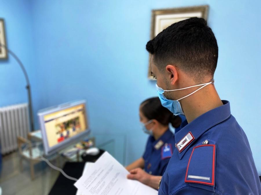 carabinieri stazione di bitti scoprono frode online