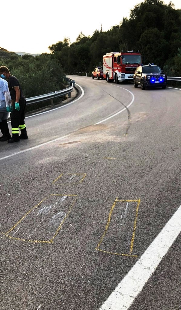 immagine incidente stradale  ilbono