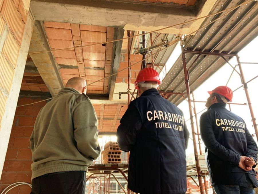 immagine controlli Nucleo Carabinieri Ispettorato del Lavoro