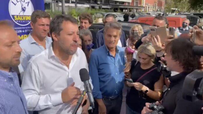 """Governo, Salvini """"Nostro impegno è difesa lavoro e pensioni"""""""