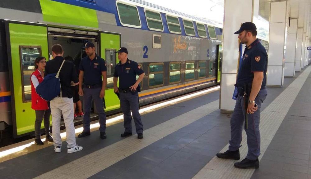 immagine polizia operazione active shield
