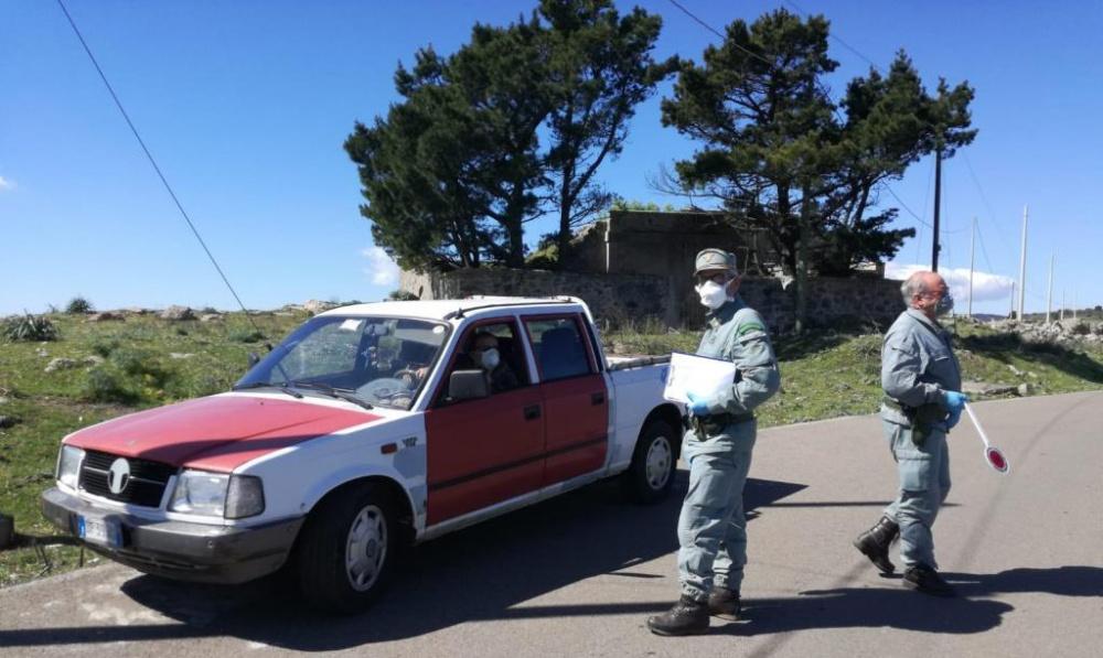 agenti forestali sorvegliano zone costiere sardegna