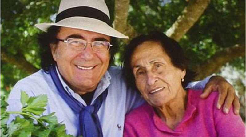 Immagine albano Carrisi e sua madre Iolanda