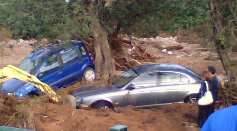 immagine alluvione capoterra