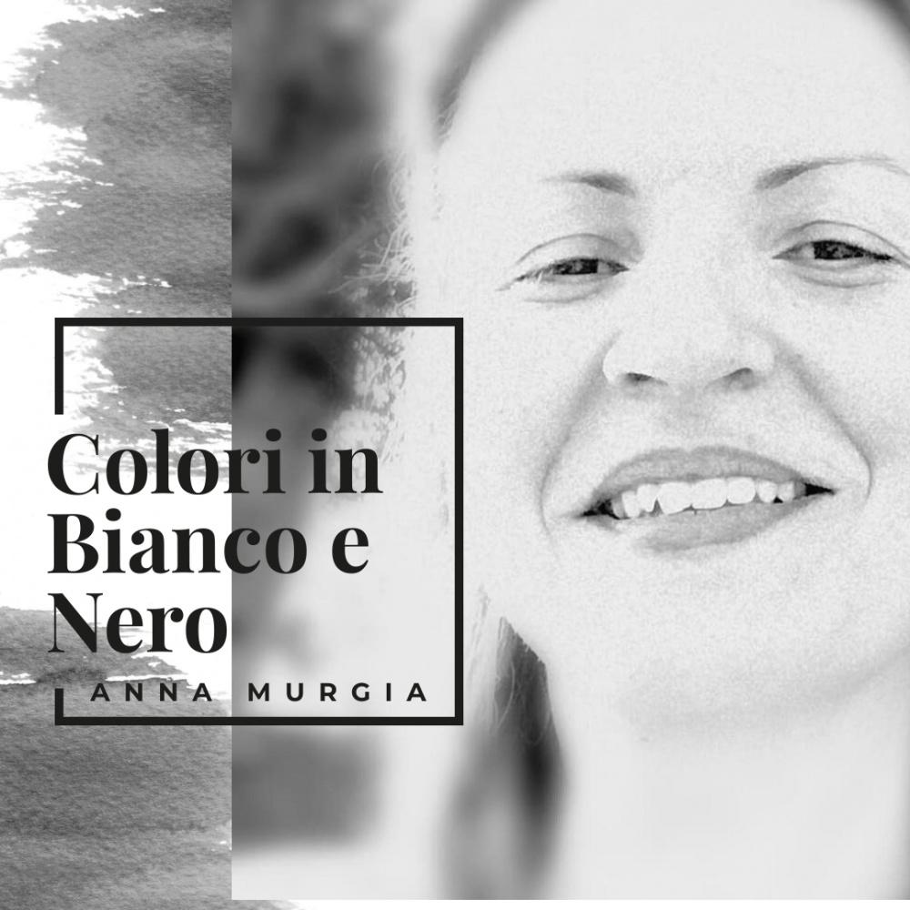 Immagine copertina del brano inedito di Anna Murgia Colori in bianco e nero.