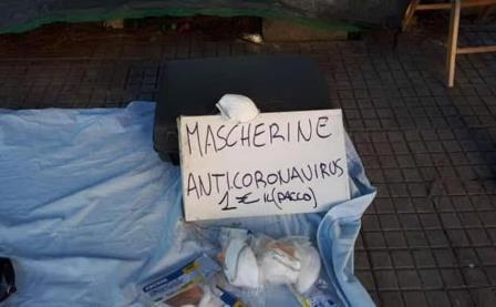 mascherina anti coronavirus
