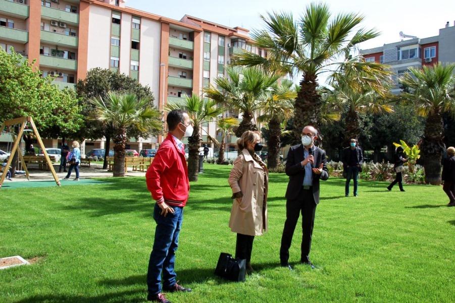 Mulinu Becciu: riaperto al pubblico il piccolo Parco di via Giotto