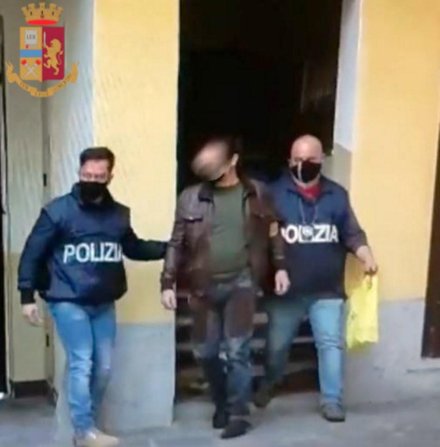 Arrestato a Milano il latitante Cali' Antonino. Deve scontare 30 anni di carcere VIDEO