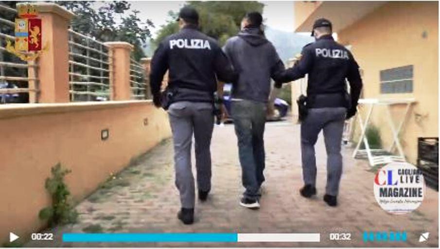 arrestato a quartu per estorsione e spaccio di droga