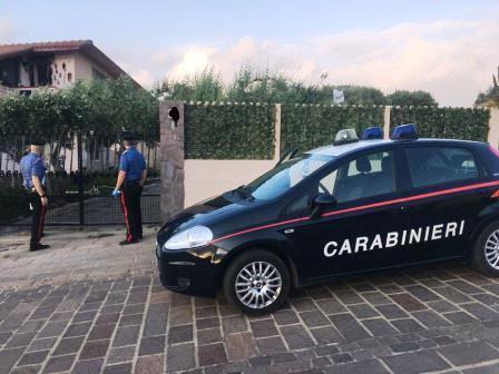 controllo dei carabinieri a sant antico
