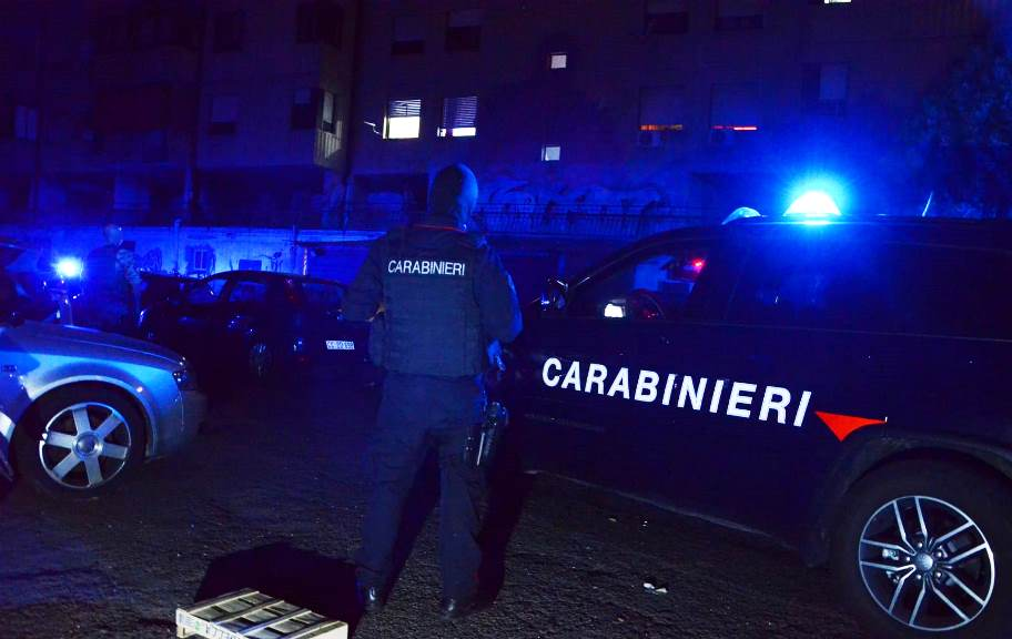 immagini carabinieri arresto thomas sotgia