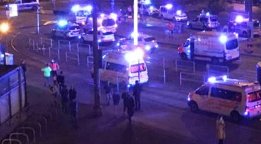 immagine attentato terroristico a vienna