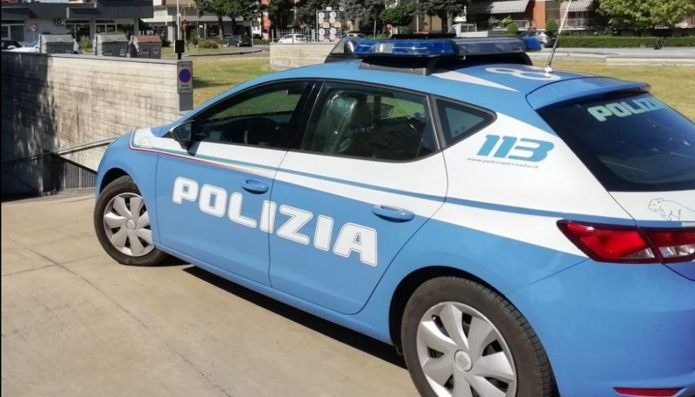 auto della plizia roma