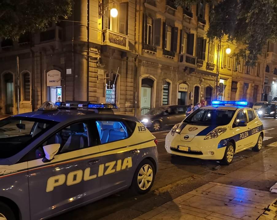 controlli di polizia municipale e polizia di stato