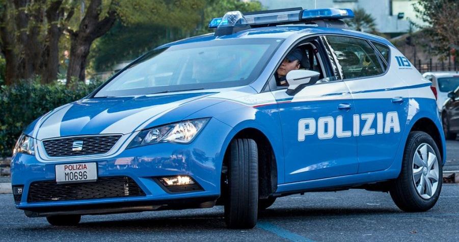 immagine volante polizia di stato