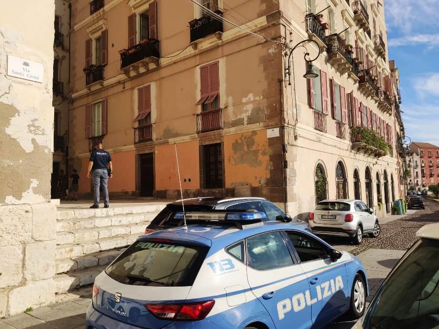 immagine esterno basilica mauriziana e polizia di stato