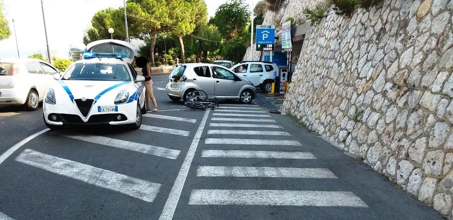 immagine incidente in viale regina elena