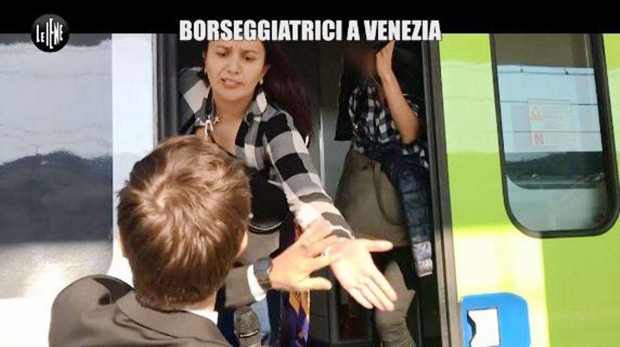 immagine borseggiatrici a venezia