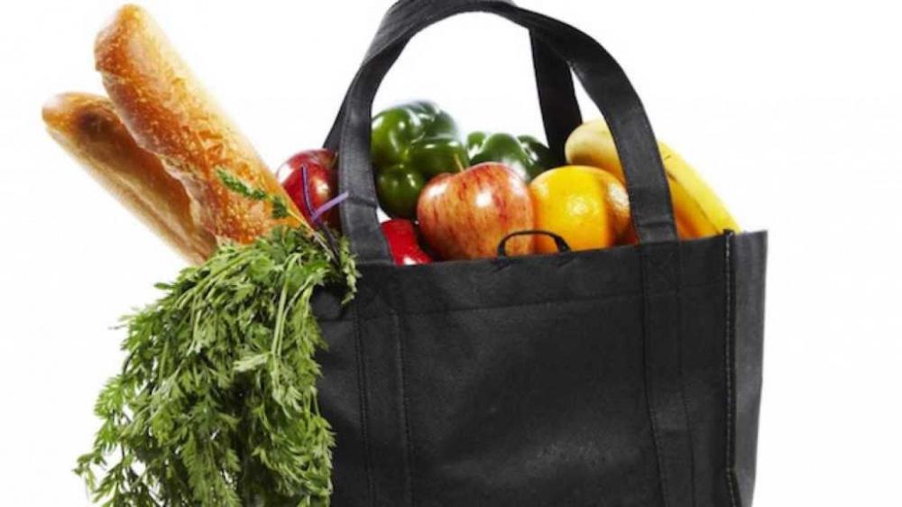 busta della spesa solidarietà alimentare