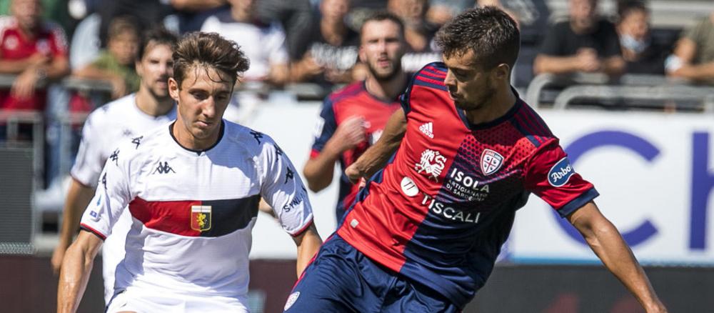 Cagliari-Genoa 2-3 Joao Pedro, Marin, Ceppitelli, Destro, Fares