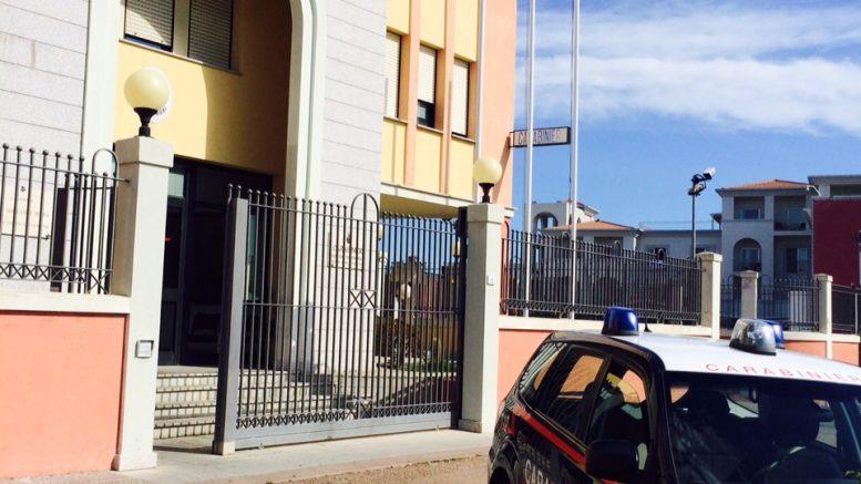 immagine stazione carabinieri olbia arrestati due spacciatori