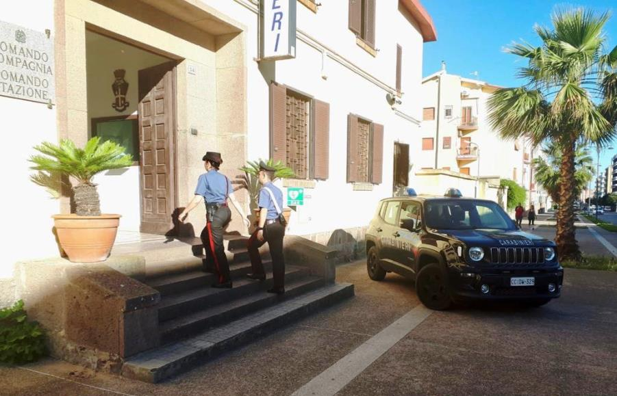 immagine stazione carabinieri di carbonia