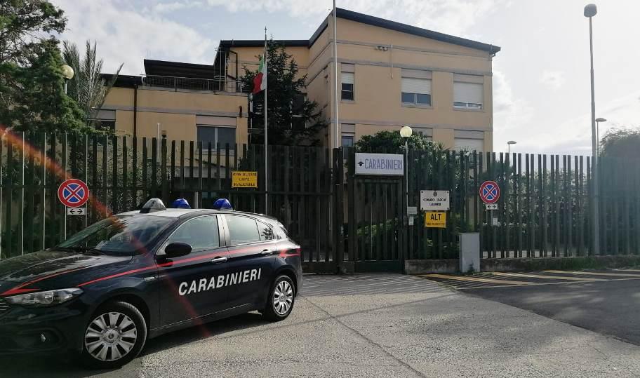 immagine caserma carabinieri di monserrato