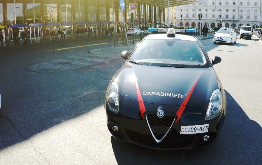 auto carabinieri roma