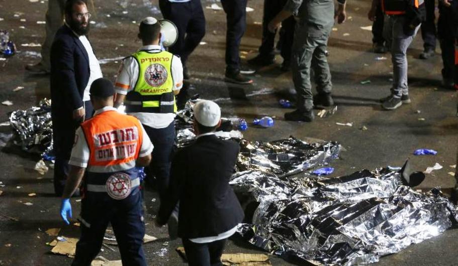 Israele. Morti e feriti schiacciati tra la folla durante una cerimonia religiosa.