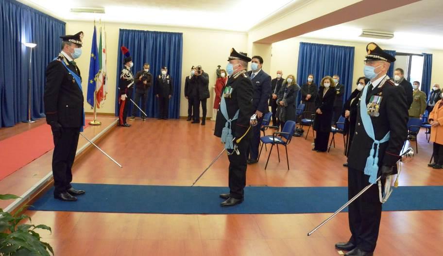 nuovo comandante di legione carabinieri Francesco Luigi gargaro