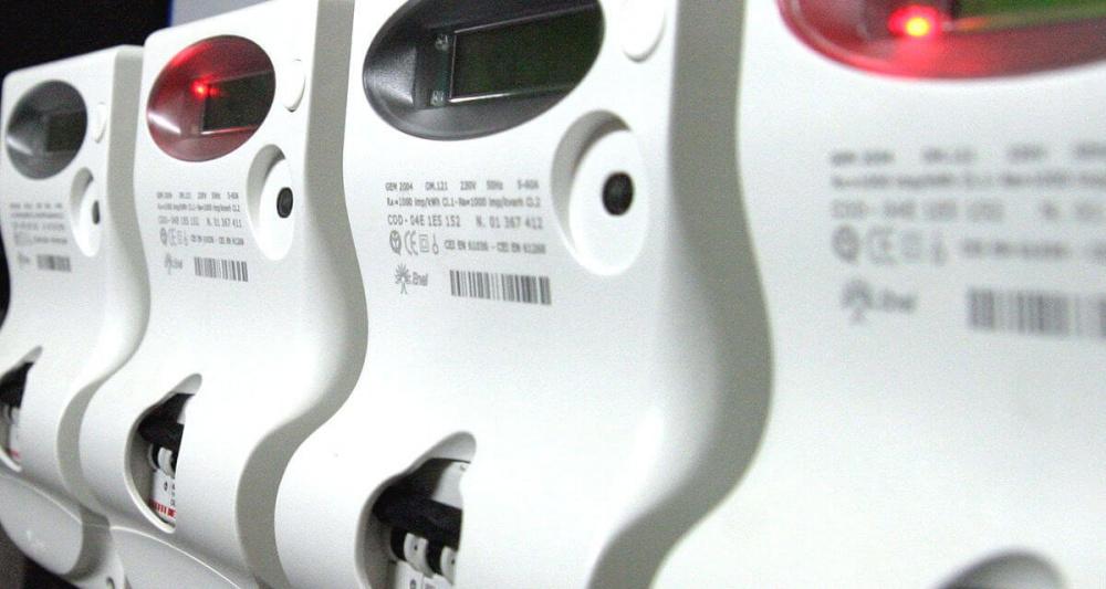 immagine contatori energia elettrica, interruzione servizio, elenco delle vie interessate