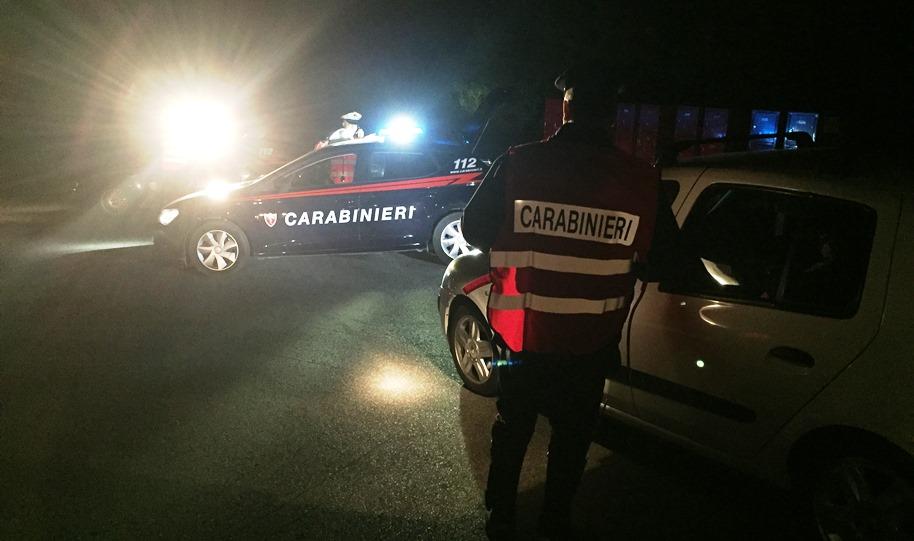 immagine controlli dei carabinieri a san teodoro