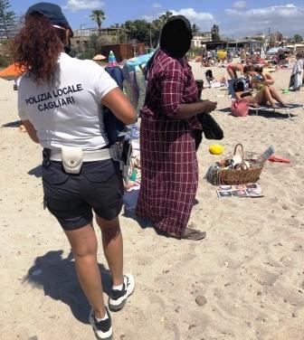 controllo spiagge a cagliari