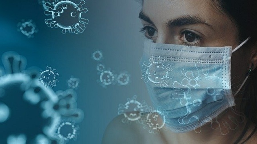 immagine mascherina coronavirus