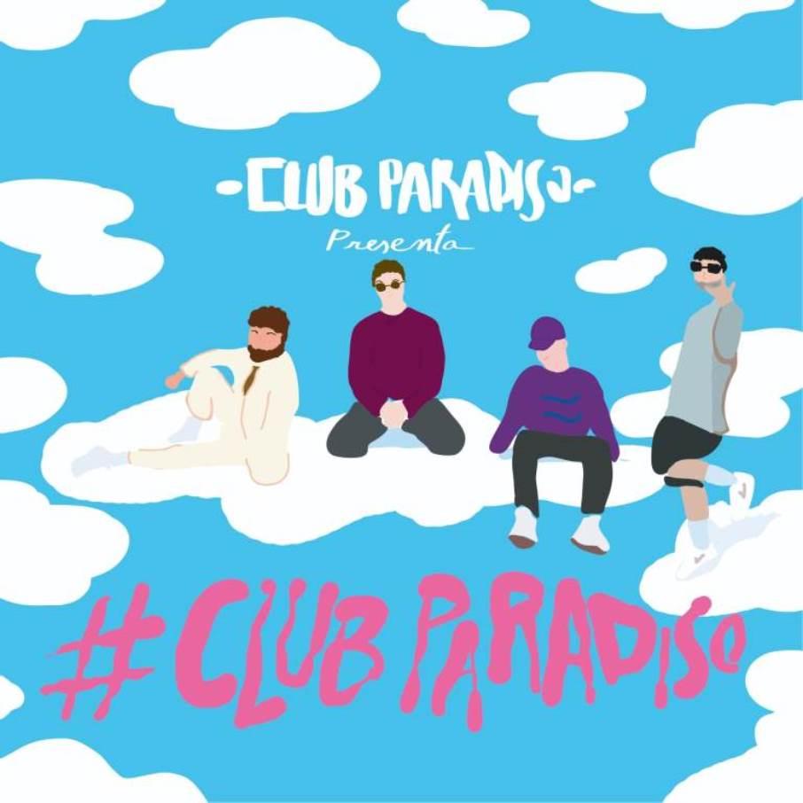 immagine copertina singolo club paradiso