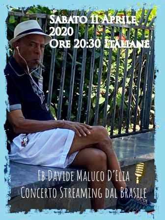 LOCANDINA CONCERTO DAVIDE MALUCO