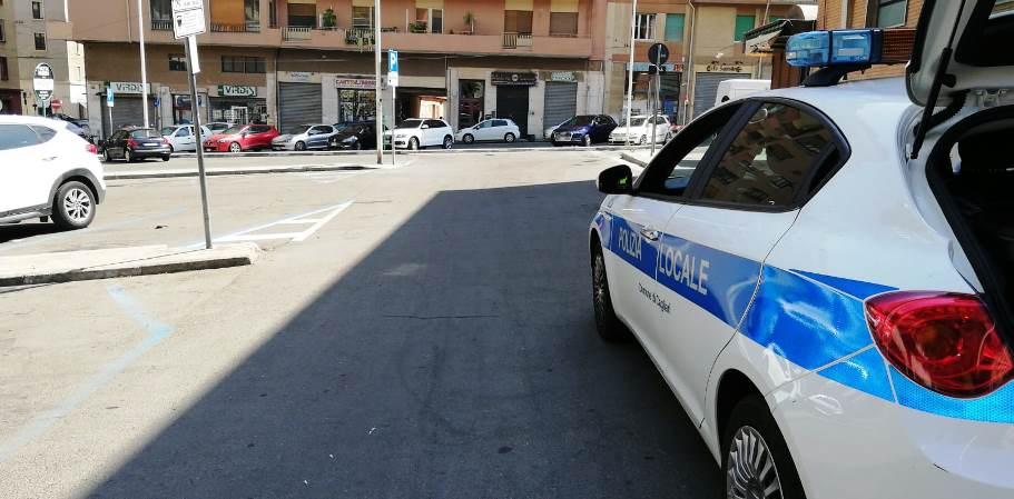 immagine auto polizia municipale