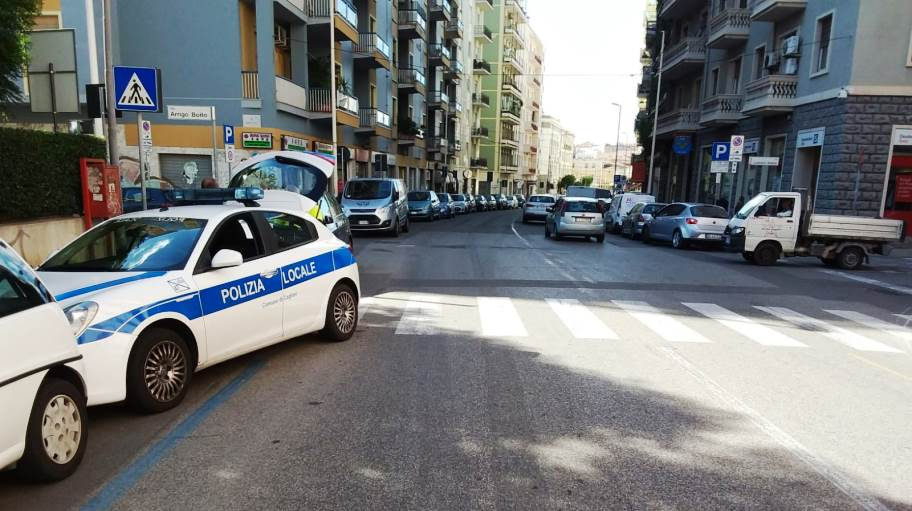 immagine incidente donna investita a cagliari