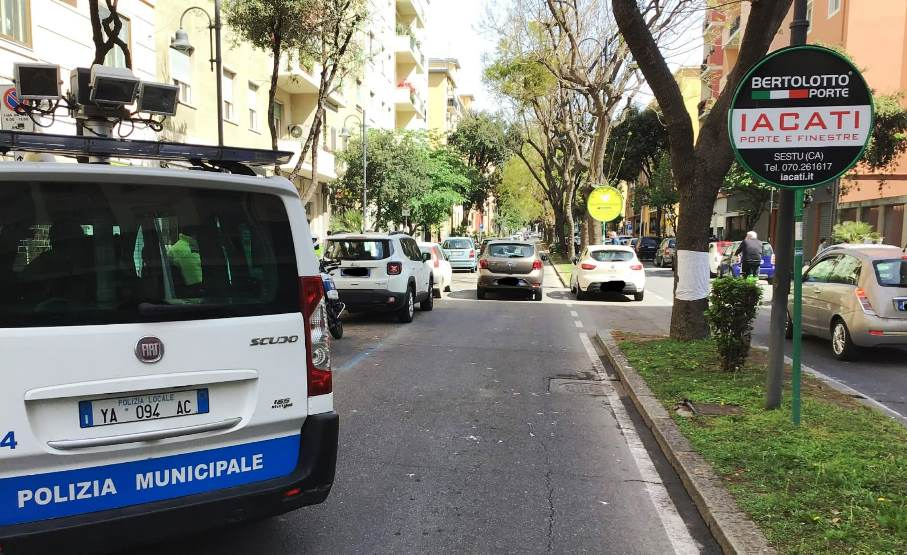 donna investita in via dante