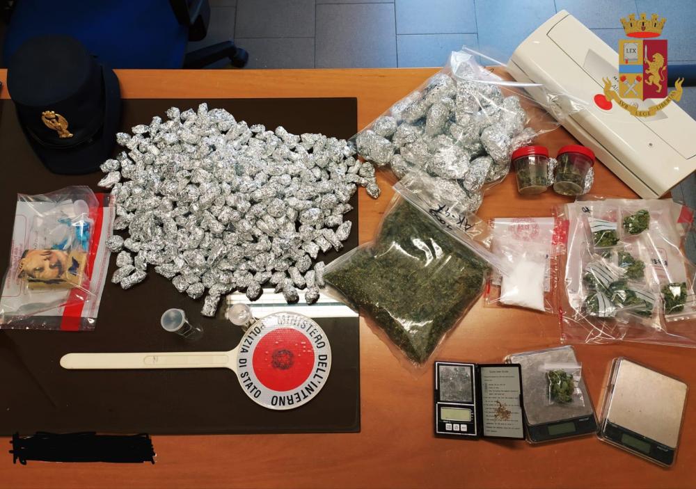 immagine droga a quartu arrestato ragazzo di 25 anni