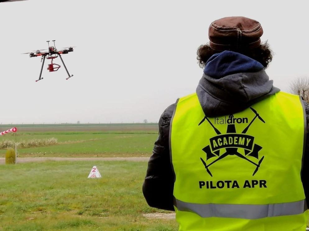 controllo con i droni a quartu