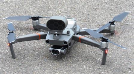 UNO DEI DRONI UTILIZZATI