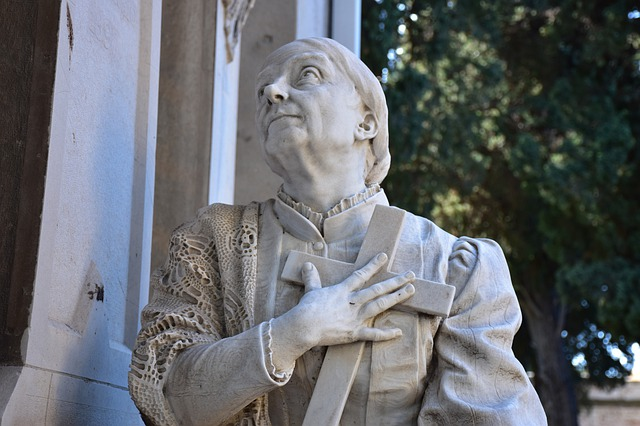 cimitero monumentale di bonaria, statua