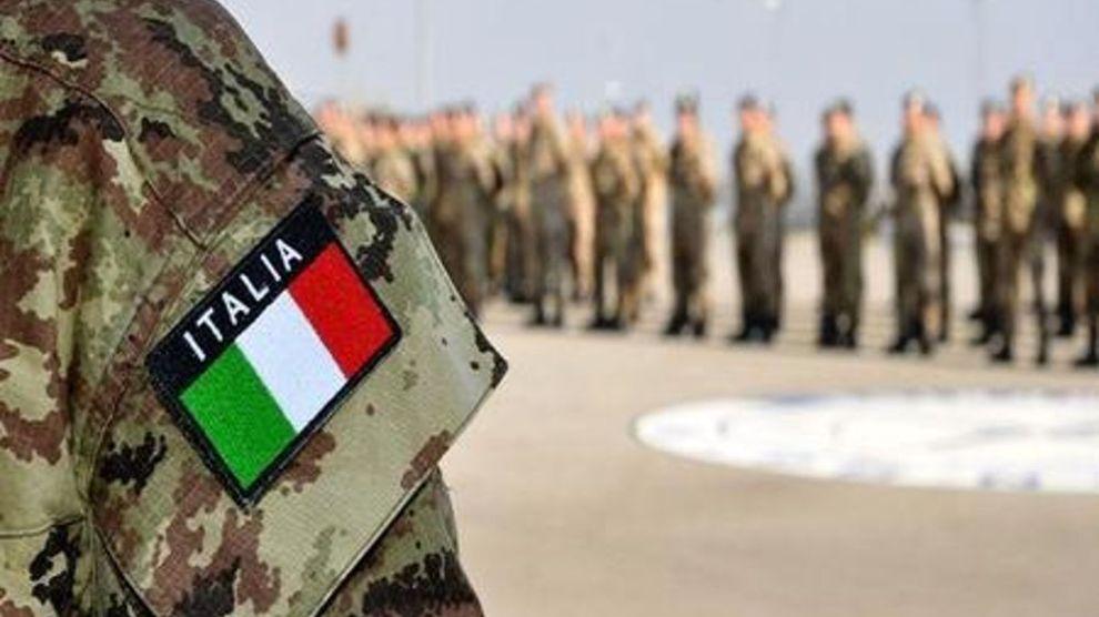immagine esercito italiano nell'emergenza coronavirus