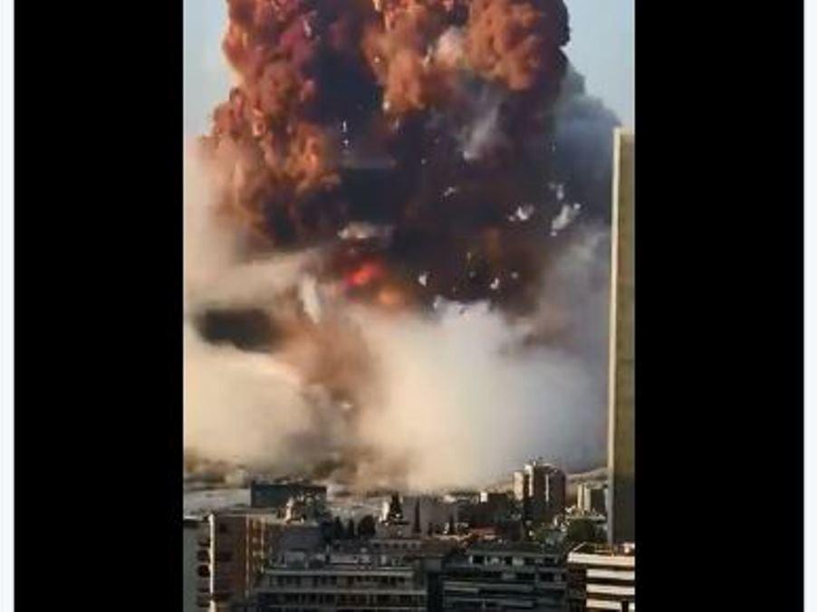 esplosione a beiru