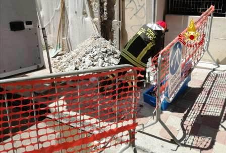 vigili del fuoco esplosione gas sant'avendrace