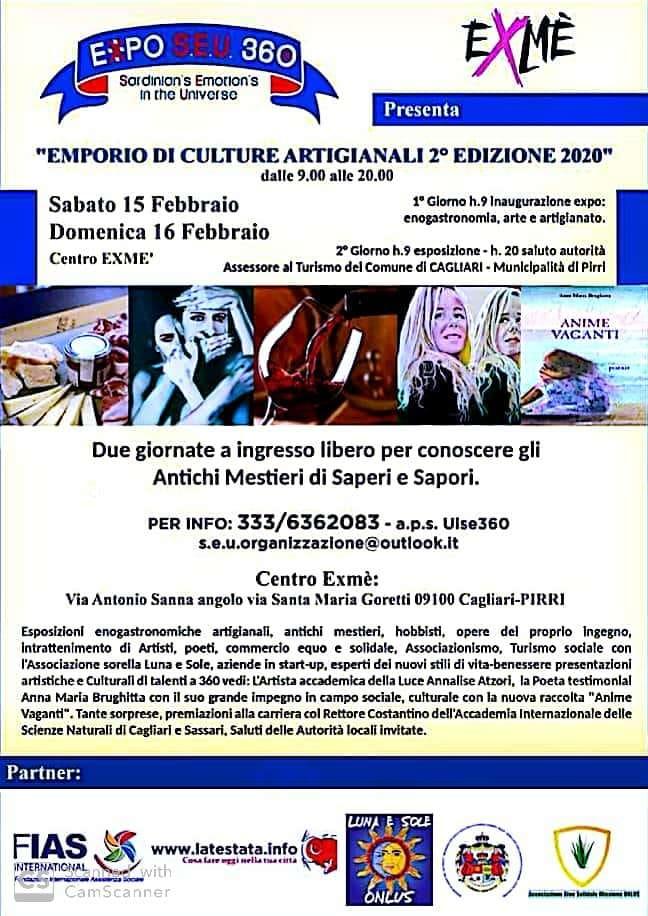 immagine locandina Emporio di Culture Artigianali 2 Edizione 2020