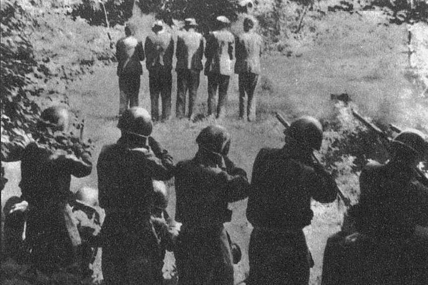 immagine massacro delle foibe