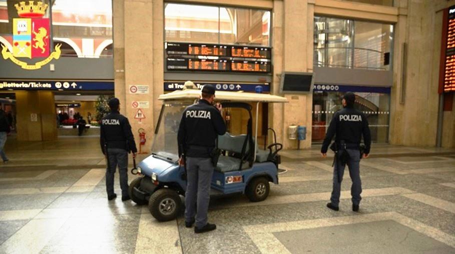 polizia stazione di torino